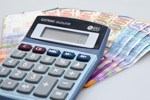 כסף שהתקבל מהלוואה ומחשבון לחישוב ריבית